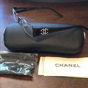 EUC Chanel Optical Glasses 2118-H-B c. 357